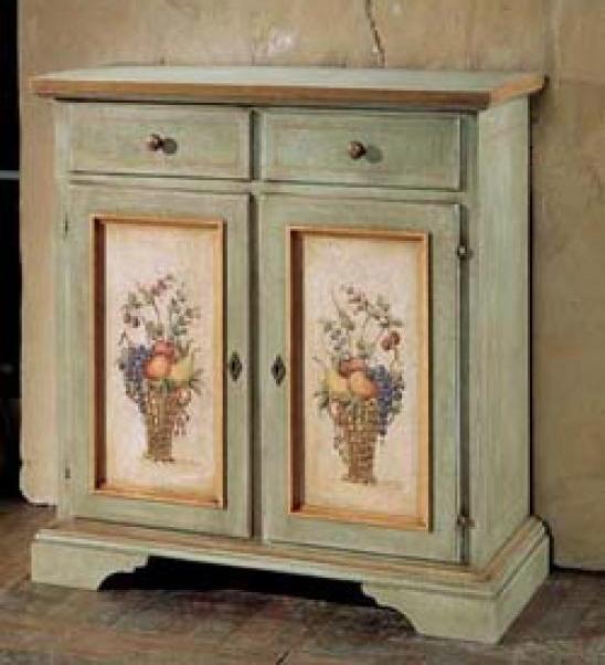 Декор мебели в стиле прованс своими руками